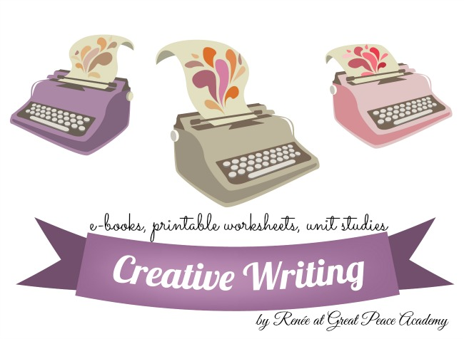 Creative Downloads, ebooks, printable worksheets, unit studies from Renée at Great Peace Academy