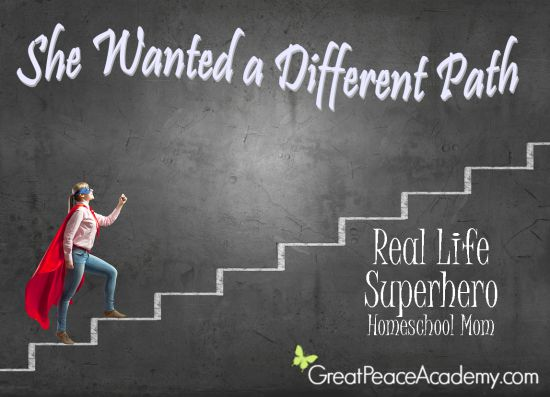 Real Life Superhero Homeschool Mom, She wanted a Different Path for Her Children   Great Peace Academy
