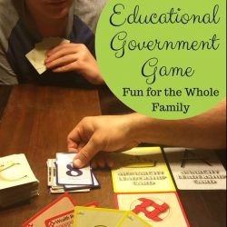 Educational Government Game that's Full of Fun for the Whole Family