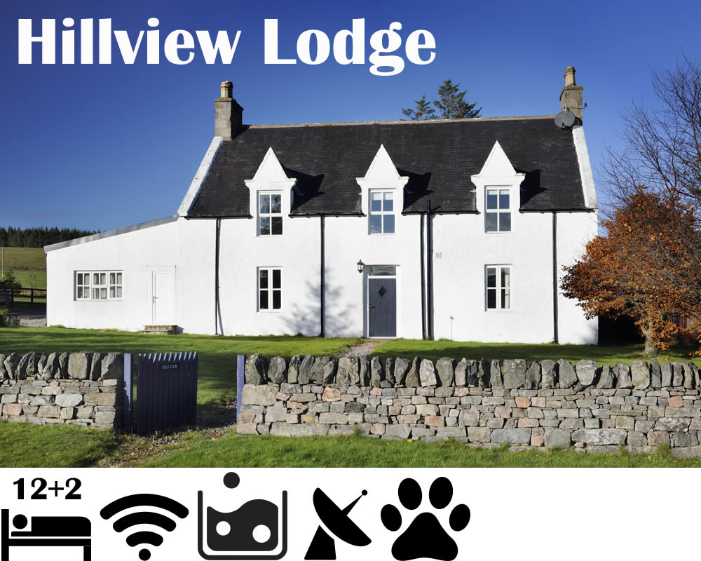 Hillview Lodge Glenlivet