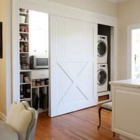 laundry room/closet doors   inspiration