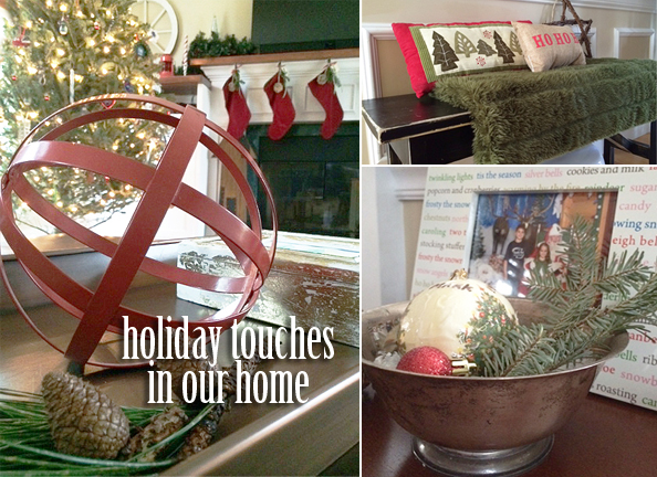 holiday touches