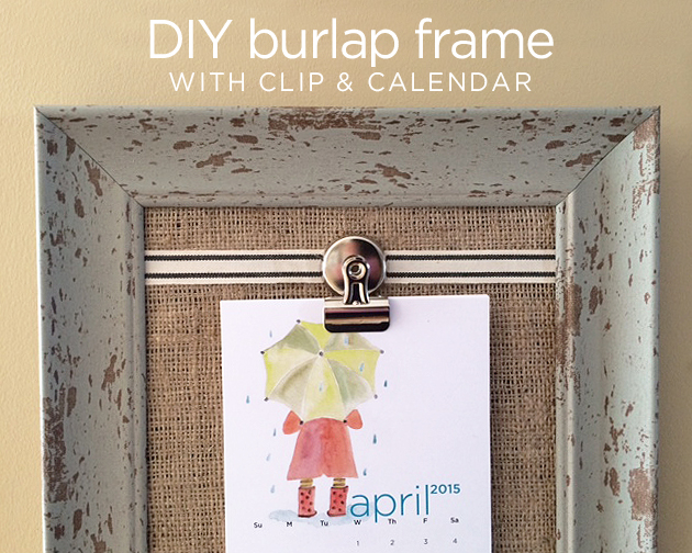 frame after hung