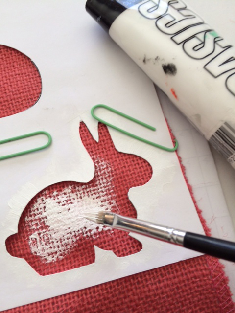 stencil painting 1