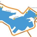 Piraeus Port - Blue Star Ferries docking points
