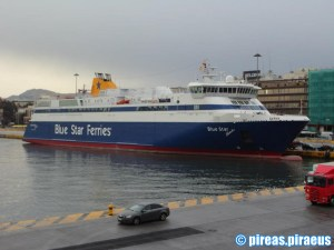 Piraeus Port - Blue Star Ferries