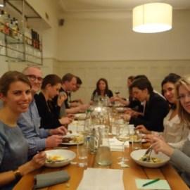Dinner: VIPs and Members, Thurs 15 Nov