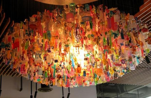 10 Stunning Pieces Of Art Created From Recycled Plastic