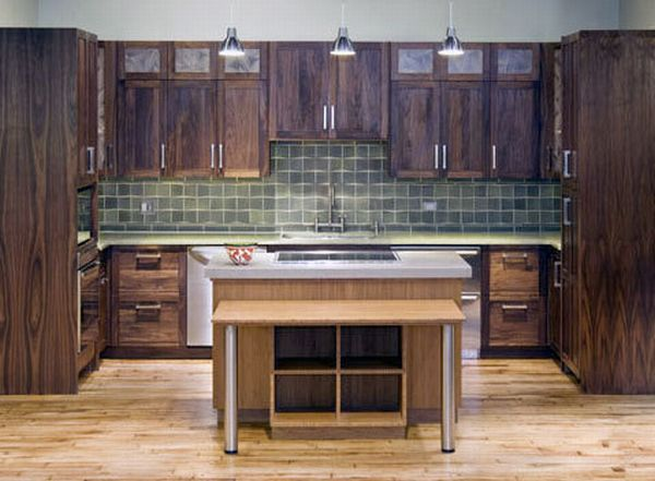 Best eco friendly kitchen counters green diary green - Eco friendly kitchen cabinets ...