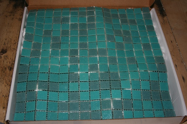 Recycled tiles
