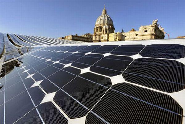 Solar Building in Vatican