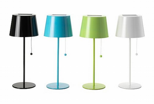 solvinden solar powered lamps