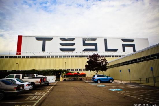 tesla electric car factory 1