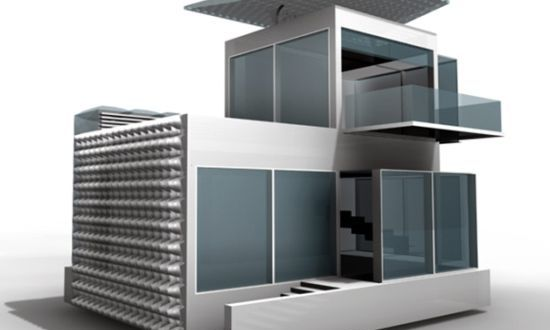 Advanced Green Technologies Make Future Living House Suitable For 2050 Gree