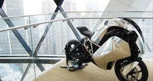 Agility Global clean technology motorcycle