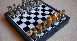 Nuts and Bolts Chess Set  (2)