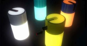 Kinetic Energy Lamps