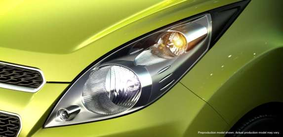 Chevrolet Spark headlight