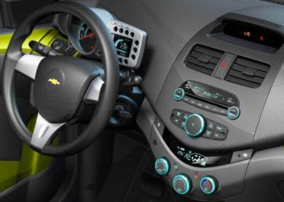 Chevy Spark interior