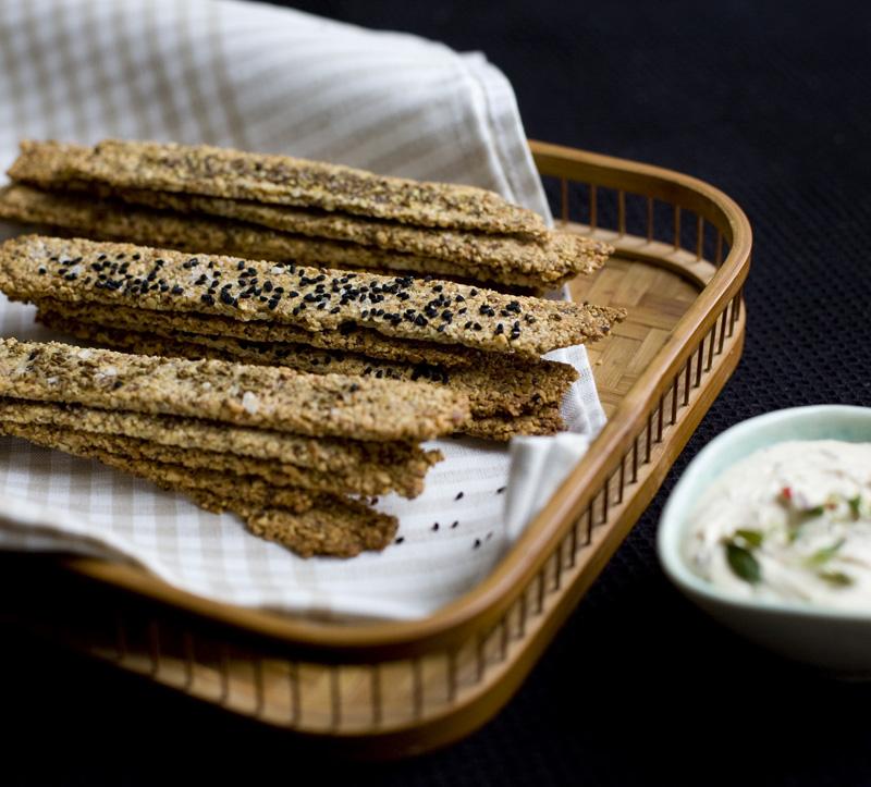 Green Kitchen Stories » Gluten Free Nut Crackers