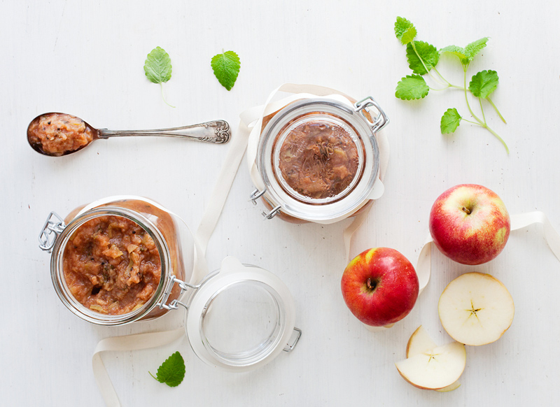 Apple Ginger Cardamom Compote