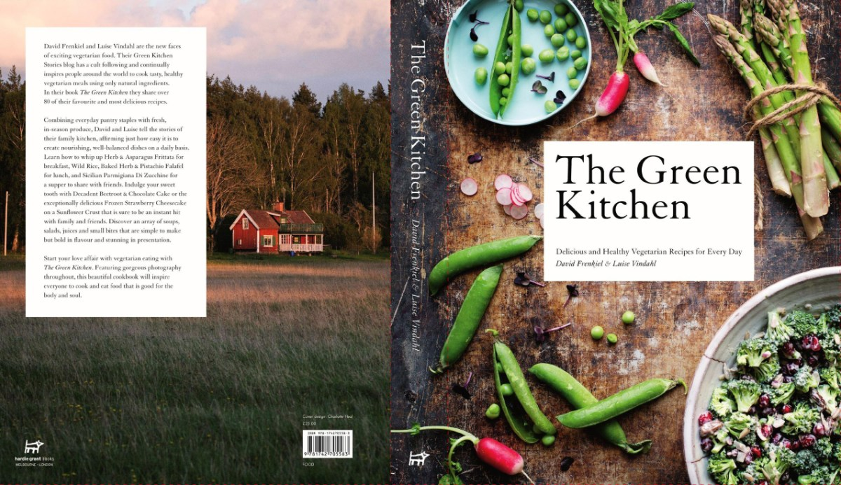 Cookbook With Green Cover : Green kitchen stories the