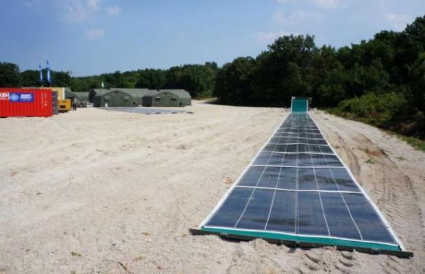 pannello fotovoltaico arrotolabile
