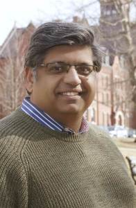 Faisal Gill was elected Interim Chair of the Vermont Democrats, Saturday March 4, 2017. Photo courtesy of Faisal Gill