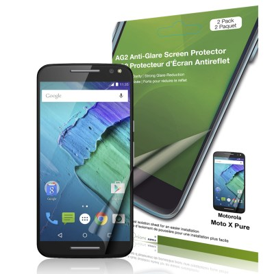 AG2 Anti-Glare Screen Protector for Moto X Pure