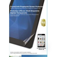Crystal Anti-Fingerprint Screen Protector for Barnes & Noble Nook HD