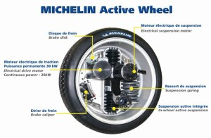 activewheel 300x196 Michelin Active Wheel: All In One Standard for Engine, Brake & Suspension