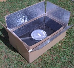 "kyoto box 300x276 Solar Cooking ""Kyoto Box"" Reduces Pollution and Deforestation"