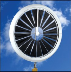 honneywellturbine on sky 296x300 $4,500 WindTronics Ultra Efficient Low Speed Wind Turbine Available This Fall
