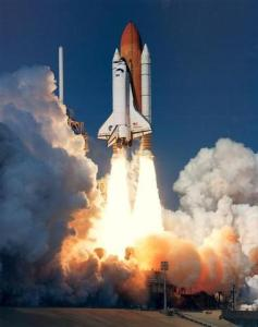 NASA rocket launch 237x300 NASA to Make Its Future Rocket Fuel From Water and Aluminum