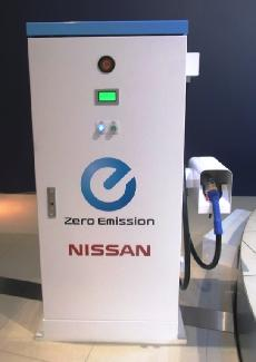 nissan rapid charger Nissan Planning to Install Their New EV Rapid Charger Every 80km Around Japan