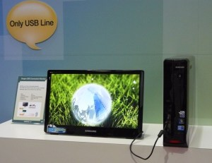 samsung usb monitor 300x231 Samsung Unveils LCD Monitor That Powers Itself Solely From Your PC's USB