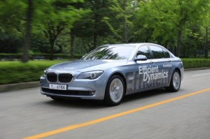 20100905000244 0 300x199 BMW Unveils Two New Hybrid Electric Cars and has Green Plans for the Future