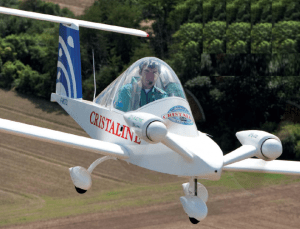Cri Cri electric airplane 300x229 Cri Cri Electric Ultra Light Aircraft Breaks Old Speed Record