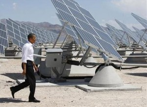 Obama green energy1 300x220 Obama Plans an $8 Bln Green Energy Budget for 2012