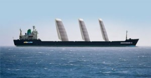 ships solar energy 300x156 New Rigid Sails Harvesting Solar and Wind Power to Propel Future Ships