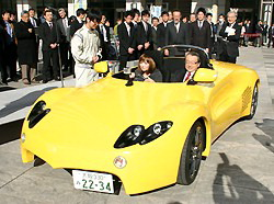 osaka hydrogen car Osaka Student Team Creates Hydrogen Powered Car From Scratch