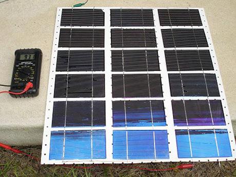 Солнечная батарею своими руками материалы