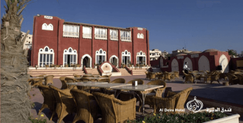 Aldeira Hotel The Only Five Star Hotel in Gaza Was Constructed Using Adobe Bricks