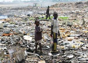 E Waste 300x217 Mobile Phones Causing Huge E Waste Issue