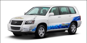 Toyota FCHV adv 300x149 Toyota Leases Four Hydrogen Cars to NREL