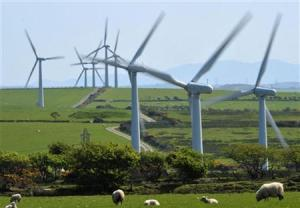 UK Windfarm 300x208 Weather Forecast Accuracy Affected by Electromagnetic Clutter From Wind Turbines