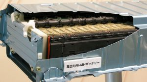 1024px Ni MH Battery 02 300x167 Toyota Recycles Hybrid Batteries for Micro Grid Applications