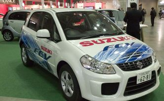 Suzuki SX4-FCV - Hydrogen Fuel Cell Concept Vehicle