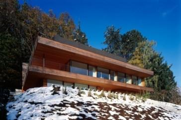 House Heilbronn Heilbronn House, a Sustainable Geothermal Home on the Edge of a German Forest