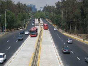 Metrobus 300x225 Mexico Citys Air Quality Changed by Green Transportation